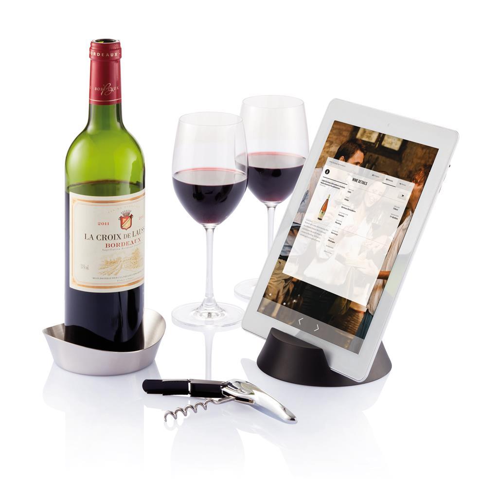 Sada na víno Airo Tech - stříbrná