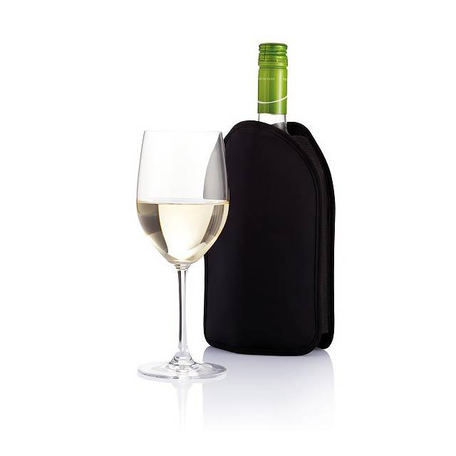 Chladicí obal na víno, černá - černá