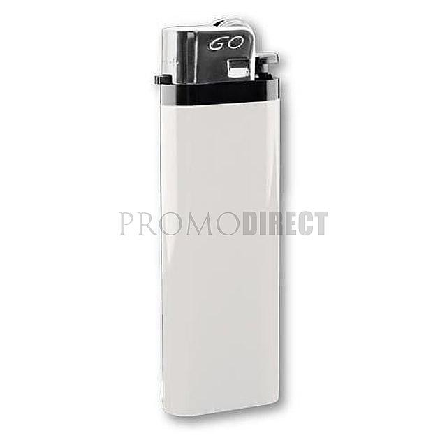 Zapalovač jednorázový - bílá