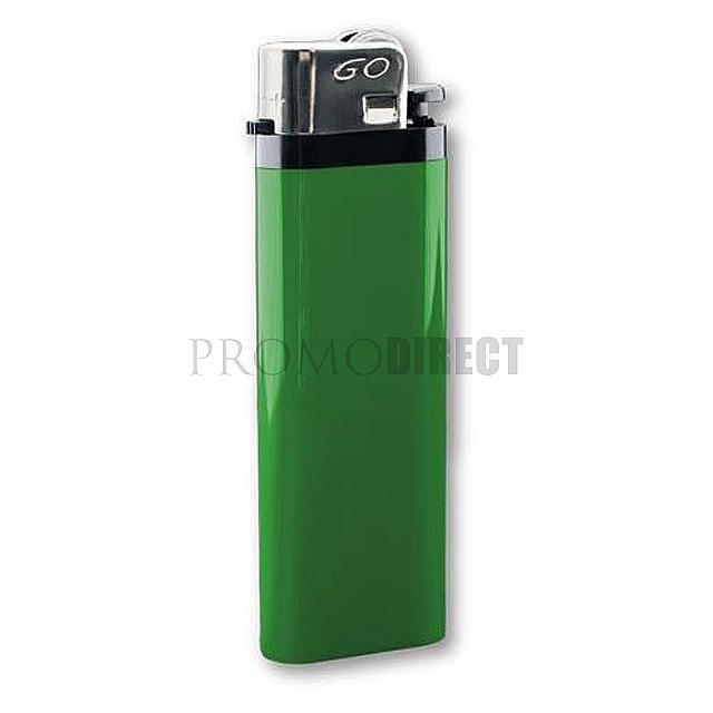 Zapalovač jednorázový - zelená