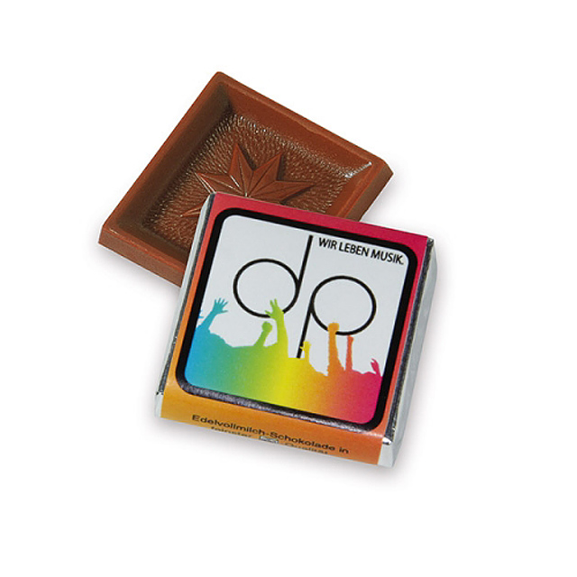 Chocolate square 5 g -