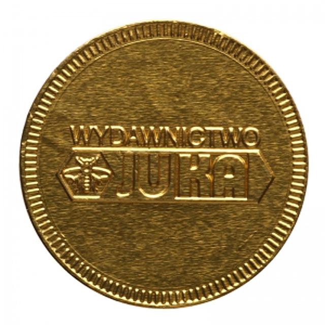 Čokoládová mince 55 mm -