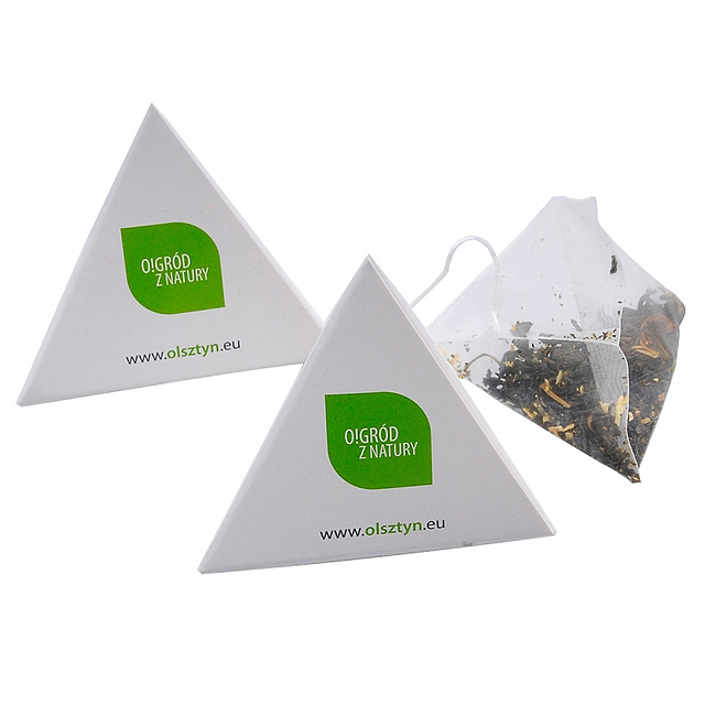 Tea pyramid -