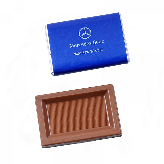 Chocolate rectangle 10 g -