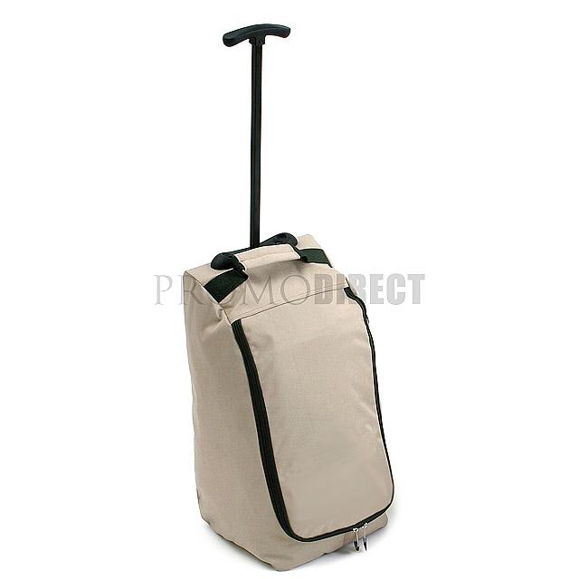 Kufr na kolečkách Travel - béžová