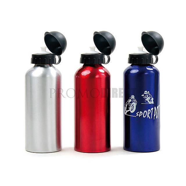 Bike Aluminum Bottle - red