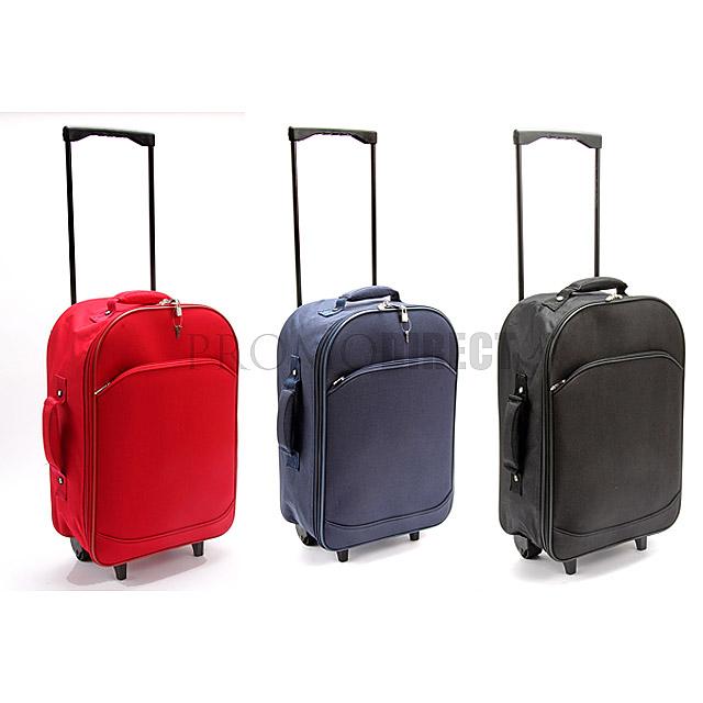 Kufr na kolečkách Foldy - černá