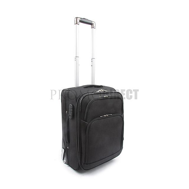 Kufr na kolečkách Silver - černá