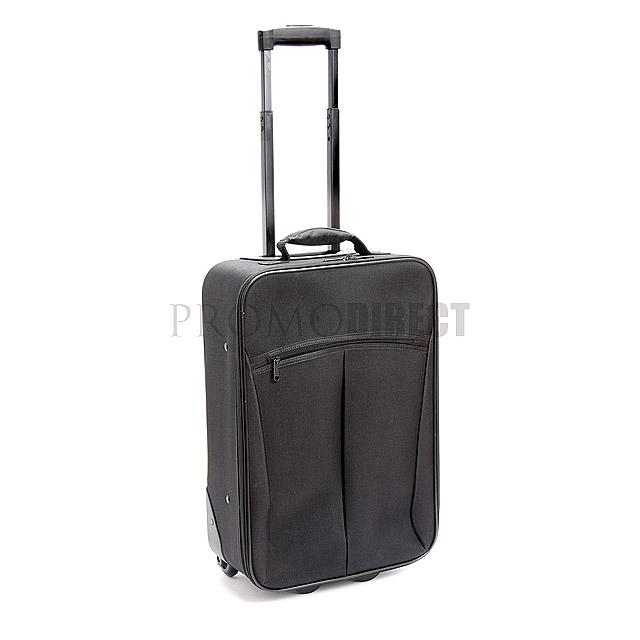 Kufr na kolečkách City - černá