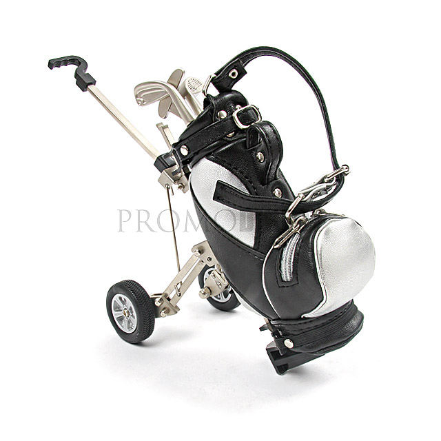 Vozík na golfové hole Caddy - bílá/černá