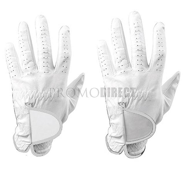 Golfové rukavice Glove - bílá
