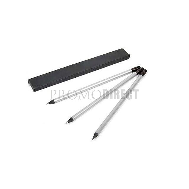 Tužka Black - stříbrná mat