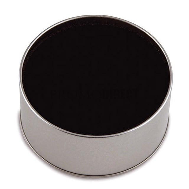 Stojánek Round - stříbrná mat