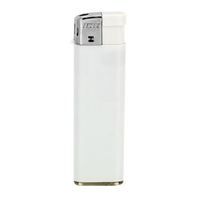 Reklamní zapalovač piezo bílý - bílá