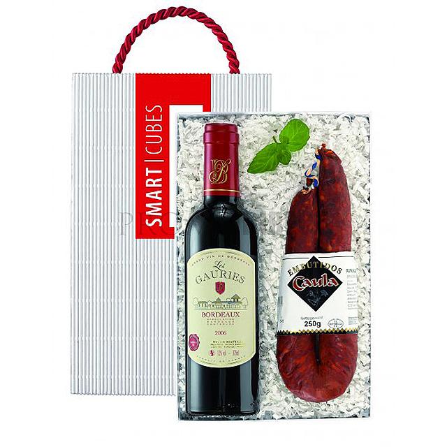 Bordeaux & salami -