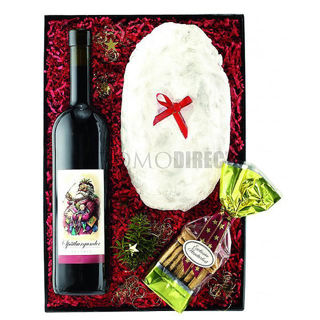 Víno, štola a sušenky -