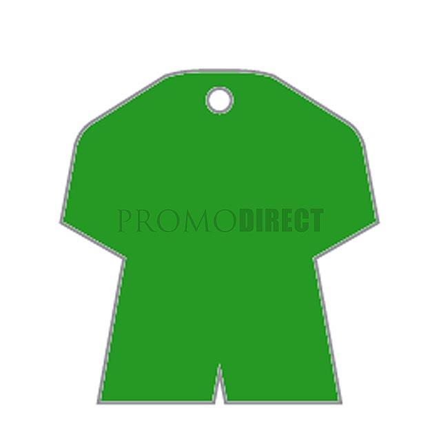 Aroma visačka tvar - fotbalový dres - bílá