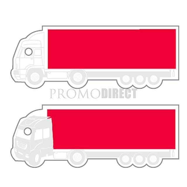 Aroma visačka tvar - nákladní auto - bílá