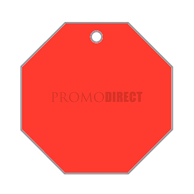 Aroma visačka tvar - hexagon - bílá