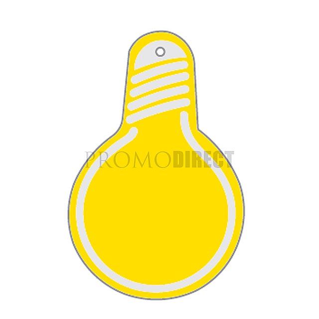 Aroma visačka tvar - žárovka - bílá