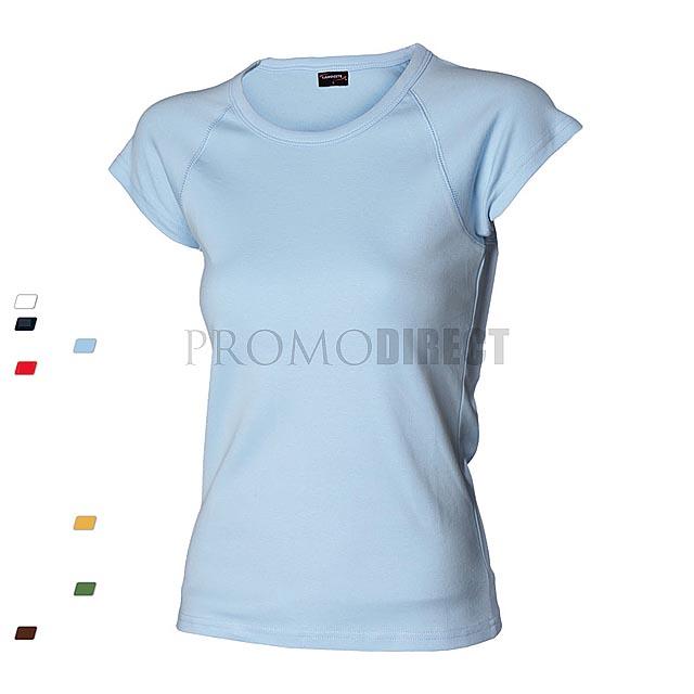 4695e4bf553b Dámske tričko U - biela