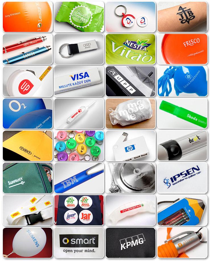 Reference reklamních předmětů